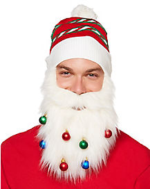 Santa Beard With Ornaments
