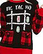 Tic Tac Ho Ugly Christmas Sweater