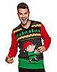 Flask Elf Ugly Christmas Sweater