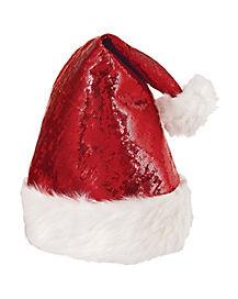 Glitzy Santa Hat