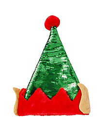 Sequin Elf Hat