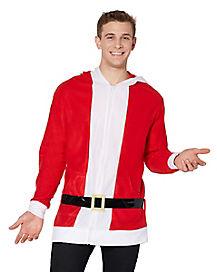 Santa Claus Hoodie Sweatshirt