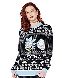 Rick and Morty Ugly Christmas Sweater