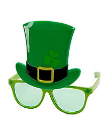 St. Patrick's Day Top Hat Sunglasses