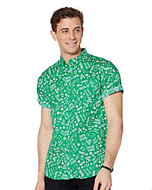 St. Patrick's Day Button Down Shirt