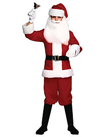 Santa Boy Child Costume