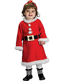 Baby Lil' Miss Santa Costume
