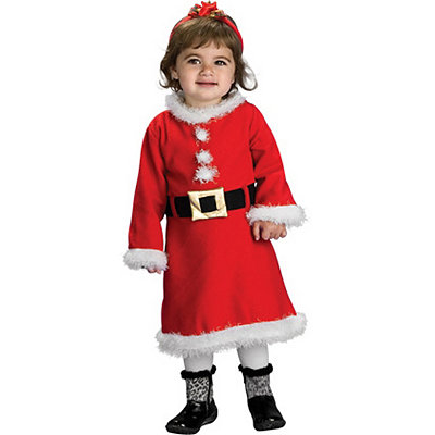 Lil Miss Santa Infant Costume