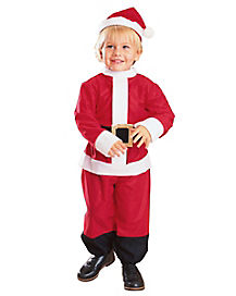 Toddler Lil' Santa One Piece Costume
