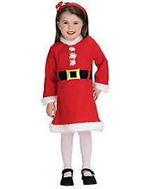 Toddler Lil' Miss Santa Costume