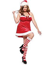Adult Santa's Little Helper Plus Size Costume