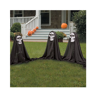 Set of 3 Grim Reaper Path Markers