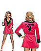 Playboy Girlfriend Robe Adult Womens Costume