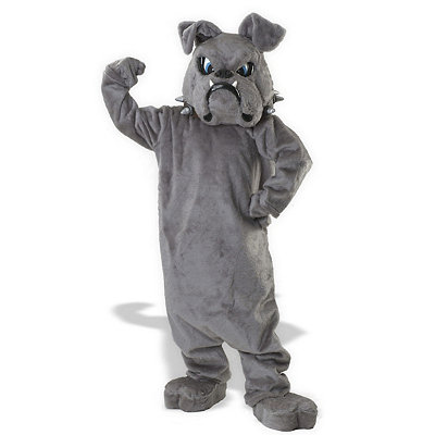 Bulldog Mascot Adult Costume