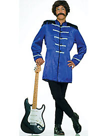Adult Blue British Invasion Costume