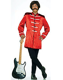 Adult Red British Invasion Costume