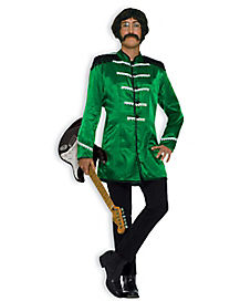 Adult Green British Invasion Costume