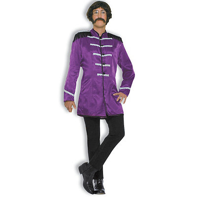 British Invasion Purple Adult Costume