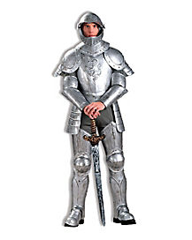 Knight In Shining Armor Mens Theatrical Costume