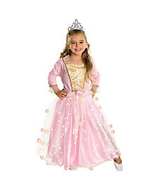 Kids Twinkle Rose Princess Costume