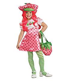 Strawberry Shortcake Deluxe Girls Costume