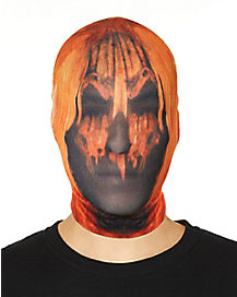 Nylon Pumpkin Maniac Mask