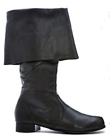 Mens Captain Black Boots