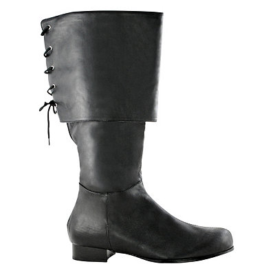 Mens Pirate Black Boots