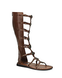 Mens Roman Brown Sandal
