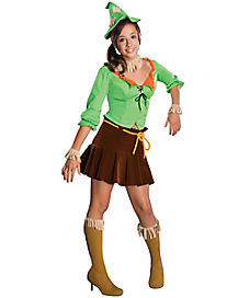 Tween Skirted Scarecrow Costume - The Wizard of Oz