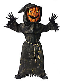 Kids Bobble Head Pumpkin Costume