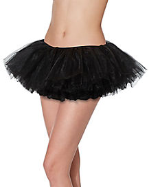 Black Organza Womens Tutu