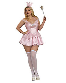 Wizard of Oz Glinda the Good Witch Adult Plus Costume