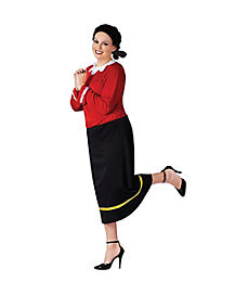 Adult Olive Oyl Plus Size Costume - Popeye