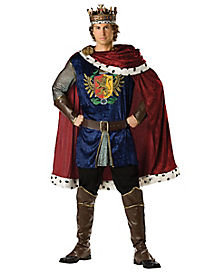 Noble King Mens Theatrical Costume