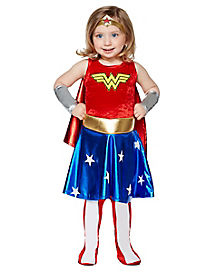 Toddler Wonder Woman Costume - DC Comics