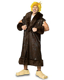 Adult Barney Rubble Plus Size Costume - The Flintstones