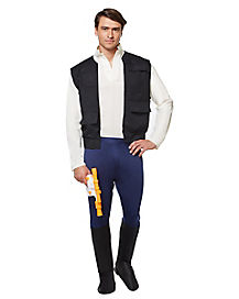 Adult Han Solo Costume Deluxe - Star Wars