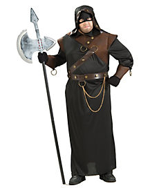 Executioner Adult Mens Plus Size Costume