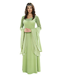 Adult Queen Arwen Costume Deluxe - Lord of the Rings