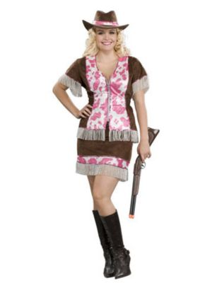 Sassy Cowgirl Adult Womens Plus Size Costume