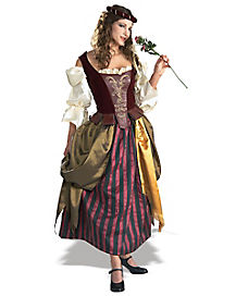 Adult Grand Heritage Renaissance Maiden Costume