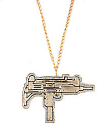 Gun Bling Medallion