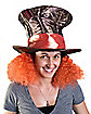Tim Burton's Alice in Wonderland Madhatter Hat With Hair