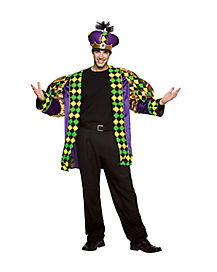 Mardi Gras King Adult Mens Costume