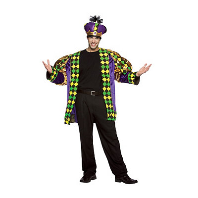 Adult Mardi Gras King Costume