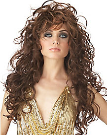 Seduction Brown Adult Wig