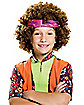 Hippie Fro Boy Child Wig