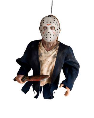 Halloween Jason Voorhees Hanging Puppet Prop