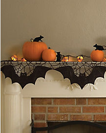 Bats Mantel Cover